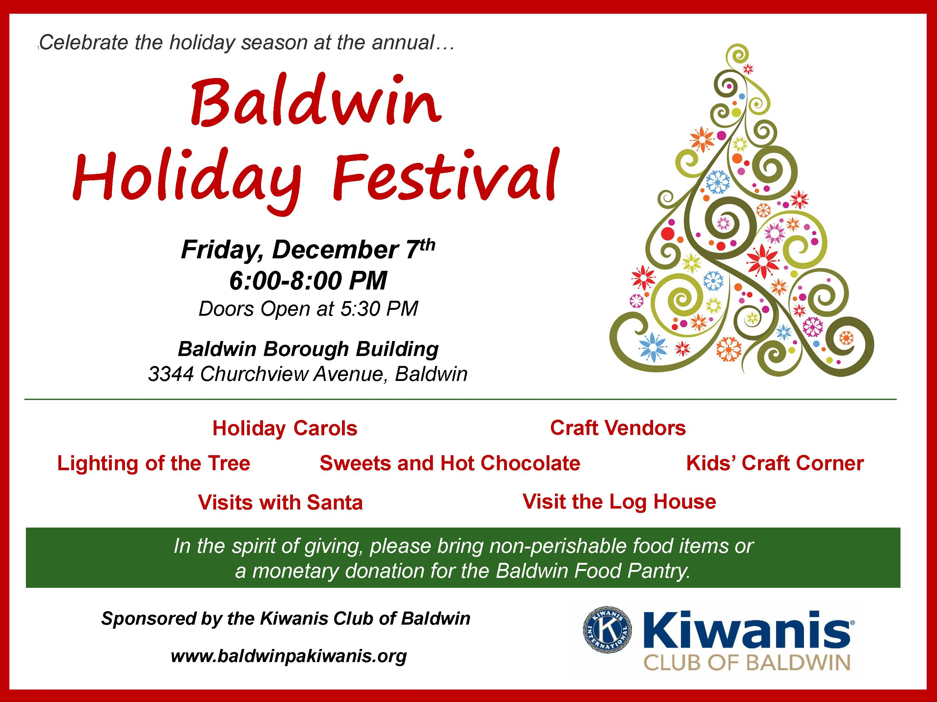 Baldwin Holiday Festival 2018